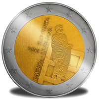 Kovanec 2 evra