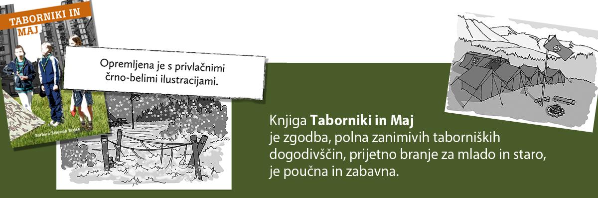 Knjiga Taborniki in maj